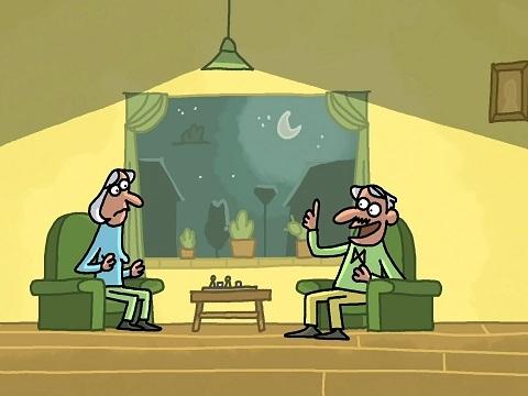Xả stress với hoạt hình: Ông chồng 'lươn lẹo'