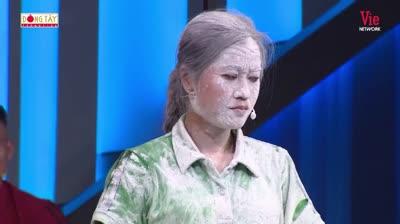 Lâm Vỹ Dạ bị giật đứt tóc giả, cả trường quay cười trẹo hàm