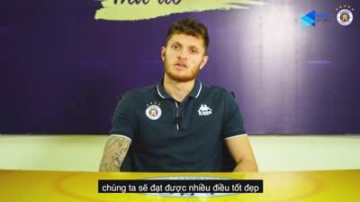 Geovane Magno lần đầu lên tiếng sau khi gia nhập Hà Nội FC?