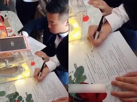Hài hước: Chú rể bị bắt làm bài kiểm tra IELTS mới được đón dâu