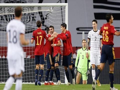 Tây Ban Nha 6-0 Đức (Nations League 2020)