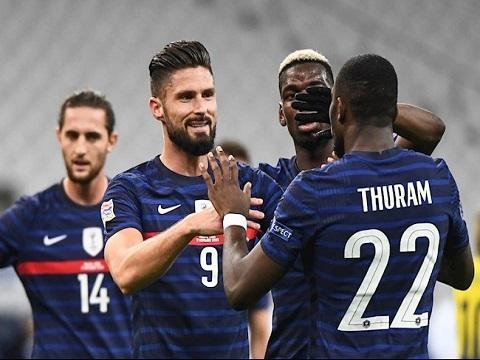 Pháp 4-2 Thụy Điển (Nations League 2020)