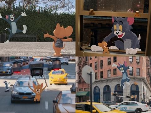 HOT: Lộ video đầu tiên của 'Tom & Jerry' phiên bản người