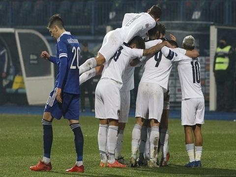 Italy 2-0 Bosnia & Herzegovina (Nations League 2020)