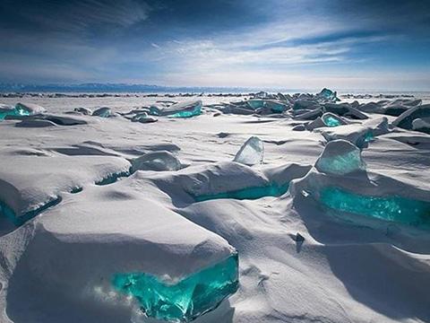 Bí ẩn băng 'màu xanh kỳ dị' xuất hiện ở Nam cực
