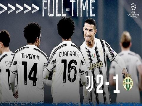 Juventus 2-1 Ferencvaros (Bảng G C1)