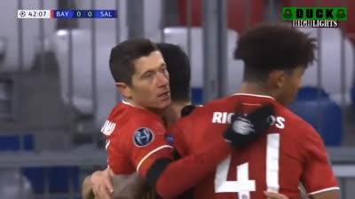 Bayern Munich 3-1 RB Salzburg (Bảng A C1)