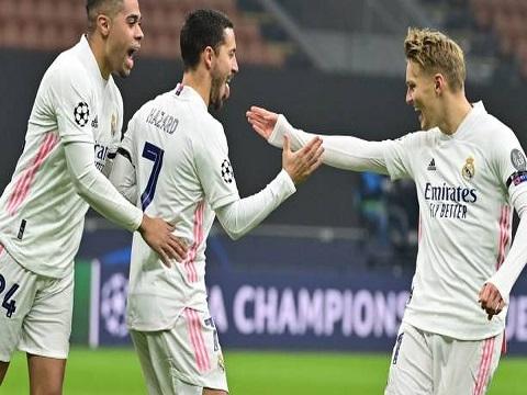 Inter Milan 0-2 Real Madrid (Bảng B C1)