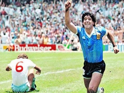 10 bàn đẹp nhất sự nghiệp của Maradona
