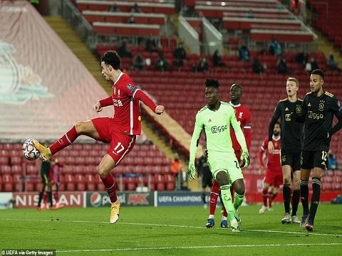 Liverpool 1-0 Ajax (Bảng D C1)