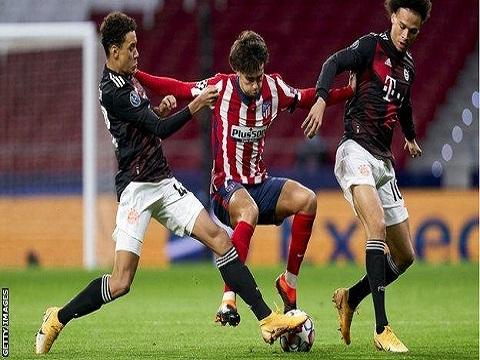 Atletico Madrid 1-1 Bayern Munich (Bảng A C1)