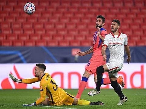 Sevilla 0-4 Chelsea (Bảng E C1)