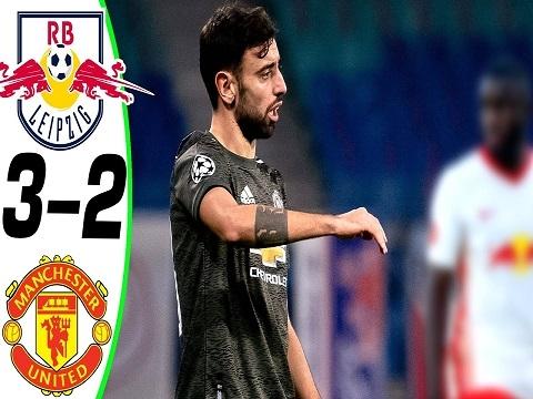 RB Leipzig 3-2 Man Utd (Bảng H C1)