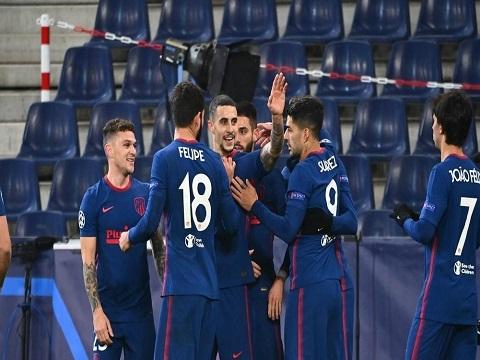 Salzburg 0- 2 Atletico Madrid (Bảng A C1)