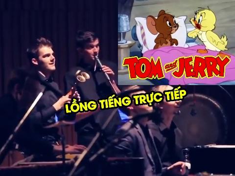 Người ta đã lồng tiếng cho 'TOM & JERRY' như thế nào?