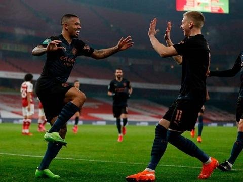 Arsenal 1-4 Manchester City (Tứ kết Cup Liên đoàn Anh)