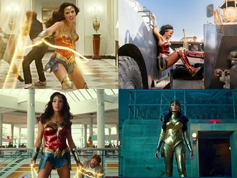 Rò rỉ 4 cảnh hành động đáng xem nhất 'Wonder Woman 1984'