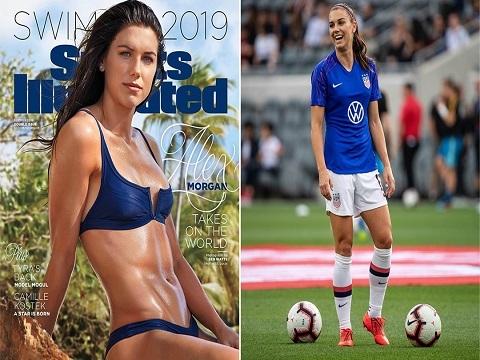 Bỏng mắt với đường cong sexy của nữ cầu thủ quyến rũ nhất hành tinh