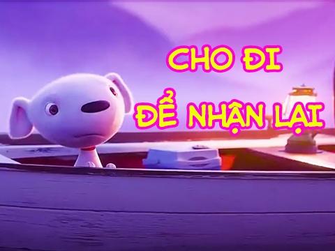 Hoạt hình tiktok: 'Cho Đi Để Nhận Lại', xem đến cuối nhé!
