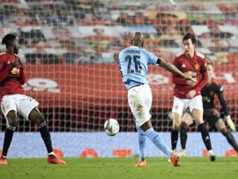 Man Utd 0-2 Man City (Bán kết Cup Liên Đoàn Anh)