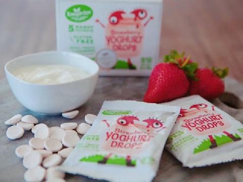 5 loại sữa chua khô tốt cho bé