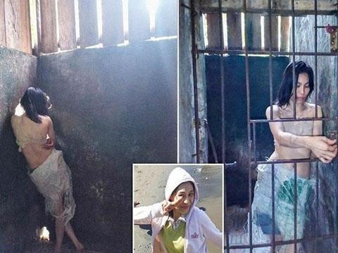 Cô gái bị gia đình nhốt trong ''chuồng'' suốt 5 năm