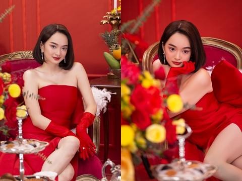 """""""Siêu vòng 1"""" Kaity Nguyễn bắn rap khoe tiền chơi Tết"""