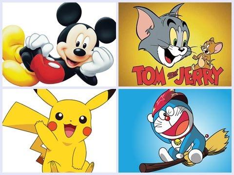 6 Nhân vật hoạt hình nổi tiếng nhất thế giới (Phần 1)