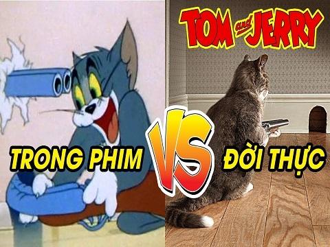 Tom & Jerry: Trong Phim Và Đời Thực