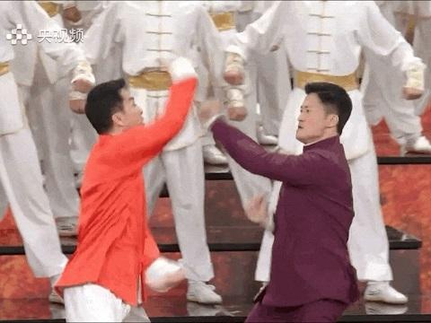 Chân Tử Đan, Ngô Kinh đấu võ mừng năm mới