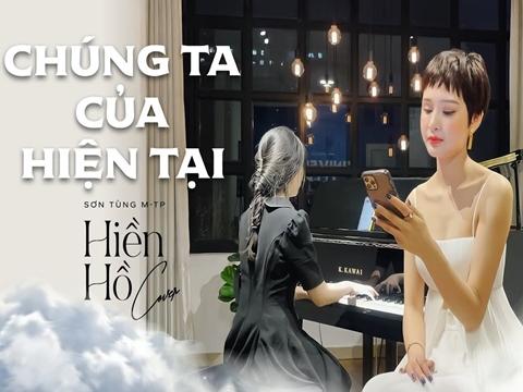 Hiền Hồ bất ngờ kết hợp thánh nữ piano An Coong cover hit Sơn Tùng