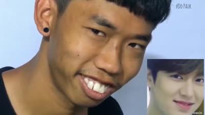 Chàng trai răng hô nổi tiếng nhờ 'nhái lại' biểu cảm Lee Min Ho