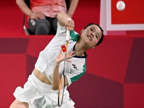 Thuỳ Linh thua tay vợt số một thế giới