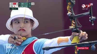 Cung thủ Ánh Nguyệt dừng bước ở Olympic