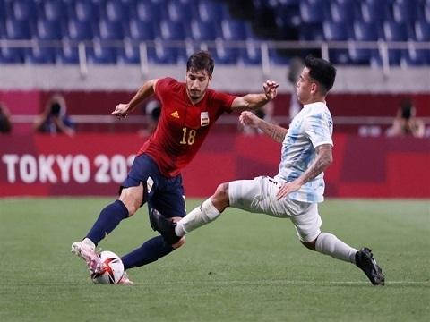 Tây Ban Nha 1-1 Argentina (Olympic Tokyo 2020)