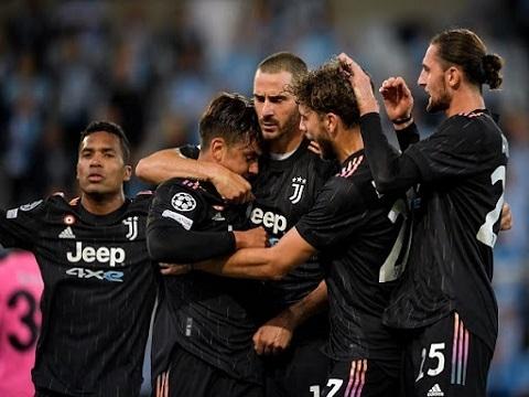Malmo 0-3 Juventus (Vòng bảng Champions League)
