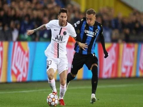Club Brugge 1-1 PSG (Vòng bảng Champions League)