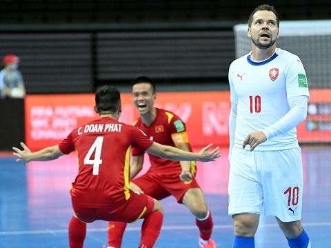Việt Nam 1-1 CH Czech (Vòng bảng futsal World Cup)