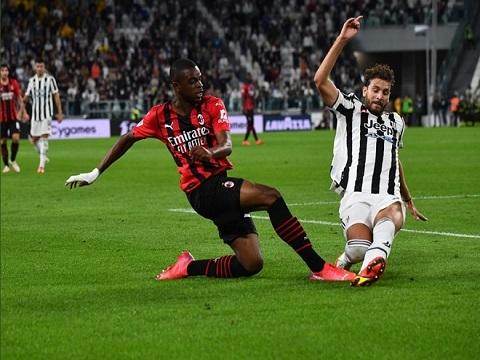 Juventus 1-1 Milan (Vòng 4 Serie A)