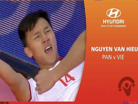 Bàn của Văn Hiếu dẫn đầu đề cử bàn đẹp nhất futsal World Cup