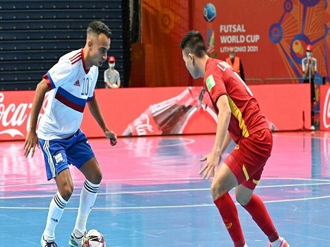 Nga 3-2 Việt Nam (Vòng 1/8 futsal World Cup 2021)